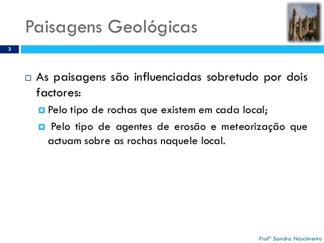 XII - PAISAGENS GEOLO Slide 3