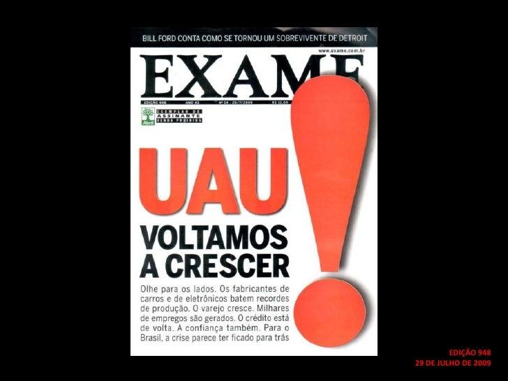 EDIÇÃO 948<br />29 DE JULHO DE 2009<br />