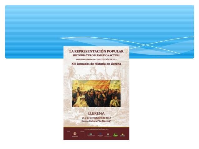 Inauguran las Jornadas: D. Valentín Cortés Cabanillas (alcalde de  Llerena y presidente de la Diputación de Badajoz) en el...