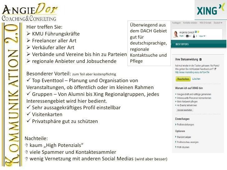 Überwiegend aus dem DACH Gebiet gut für deutschsprachige, regionale Kontaktsuche und Pflege <br />Hier treffen Sie:<br /><...