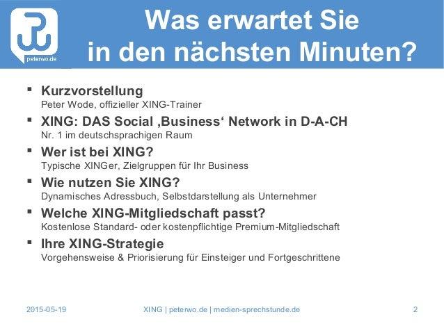 XING als Unternehmer nutzen Slide 2
