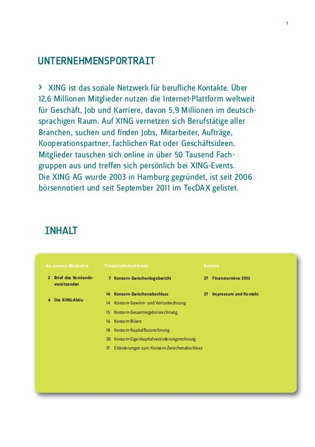 XING Q3 Report 2012 Slide 3