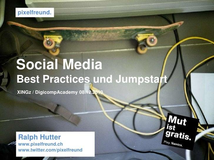 Social Media. Schnickschnack und Habakuk - xingZ Event Zürich Slide 2