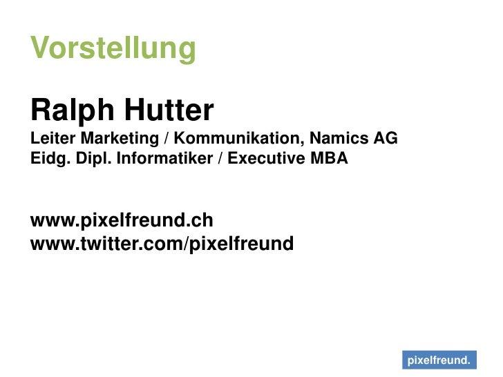 Social Media. Schnickschnack und Habakuk - xingZ Event Zürich Slide 3