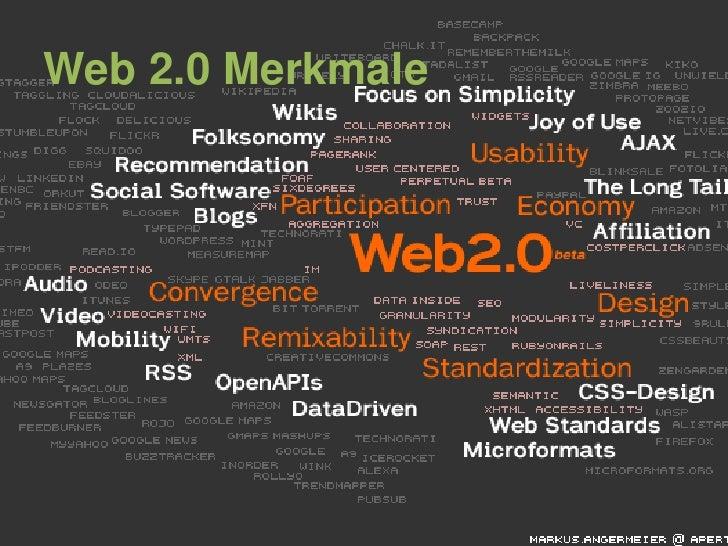 Web 2.0 Merkmale<br />