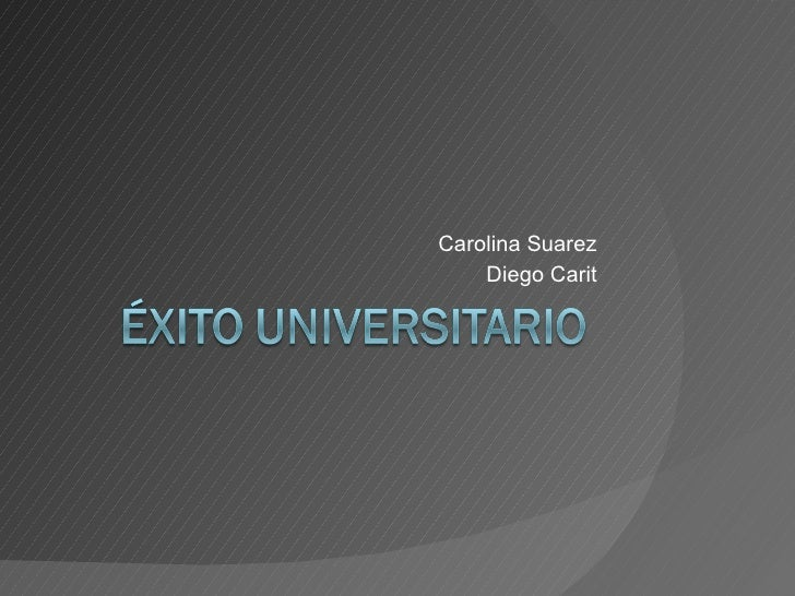 Carolina Suarez Diego Carit
