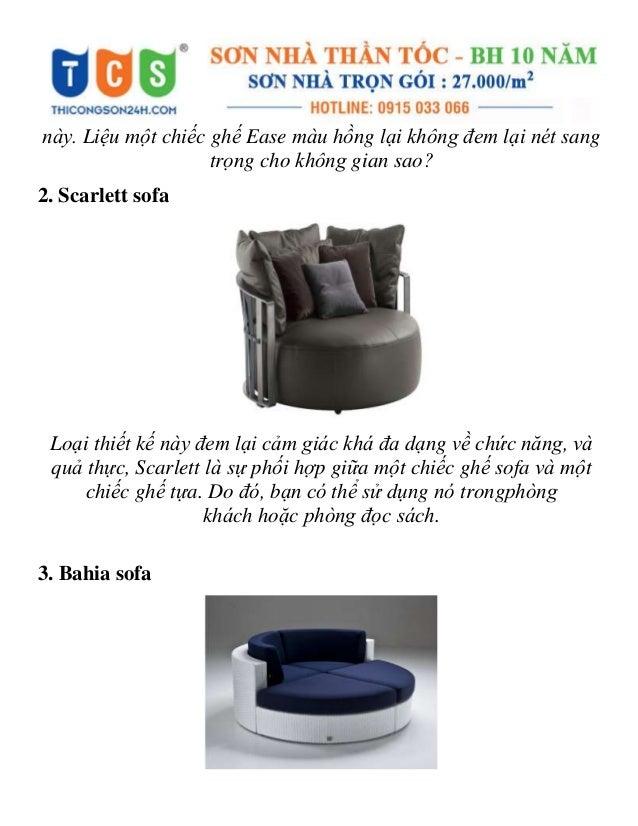 Xiêu lòng với những mẫu ghế sofa tròn vừa đẹp vừa thoải mái Slide 2
