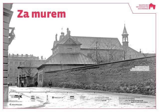 Wystawa powstała w ramach XIX Małopolskich Dni Dziedzictwa Kulturowego Od kuchni Opracowanie tekstów i koncepcji wystawy: ...