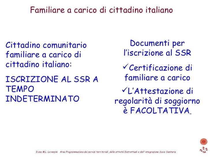 Beautiful Attestato Di Soggiorno Permanente Per Cittadini Comunitari ...