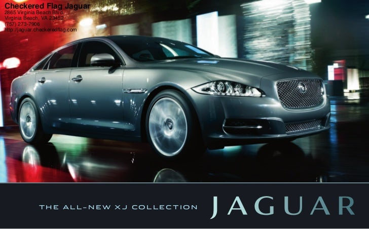 Checkered Flag Jaguar2865 Virginia Beach Blvd.Virginia Beach, VA 23452(757)  273 ...