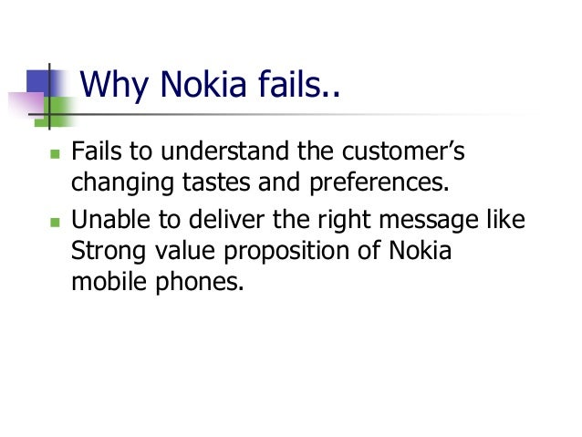 internal factors affecting nokia The paper presents the detailed analysis of the internal and external business environment of the nokia company macro environment: macro environment reflects those factors that are in direct control of the business.