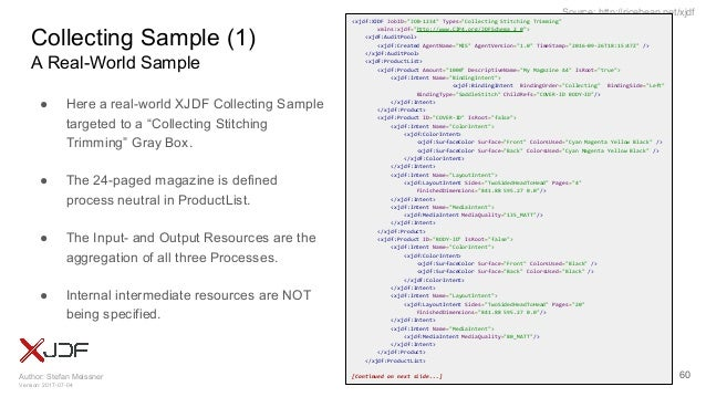 Author: Stefan Meissner Version: 2017-07-04 Source: http://ricebean.net/xjdf Collecting Sample (1) A Real-World Sample 60 ...