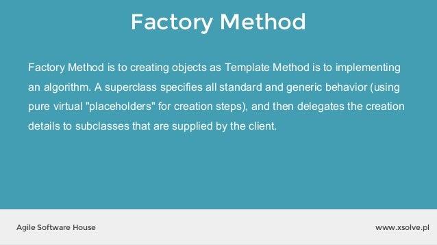 xlab #2: wzorce projektowe, Presentation templates