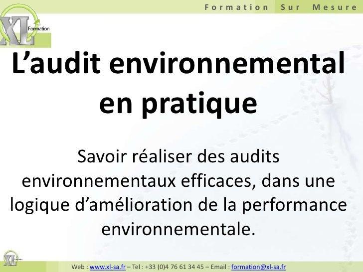 L'audit environnemental en pratiqueSavoir réaliser des audits environnementaux efficaces, dans une logique d'amélioration ...