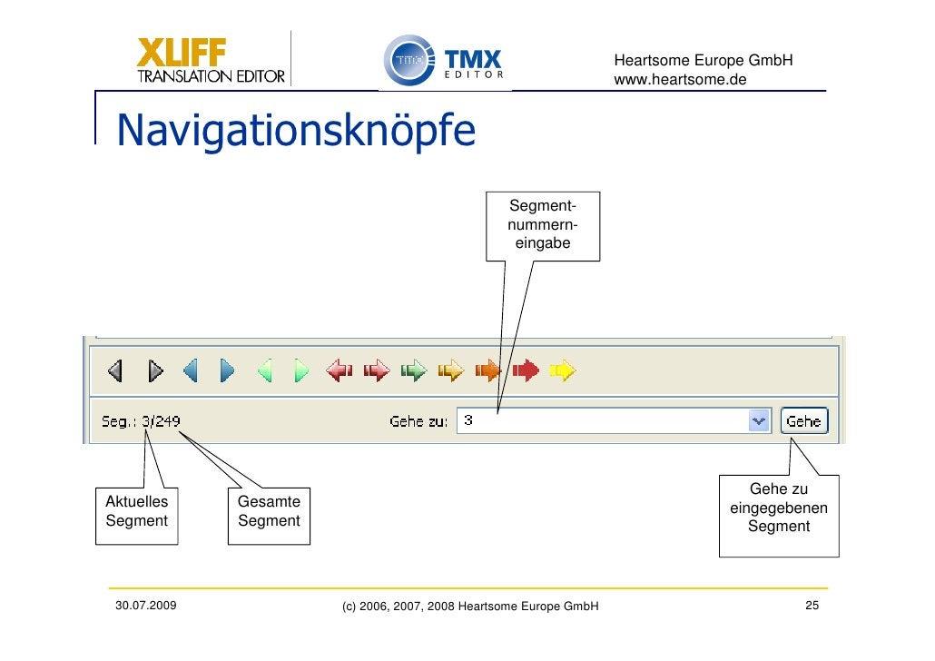 Heartsome Europe GmbH                                                                      www.heartsome.de    Navigations...