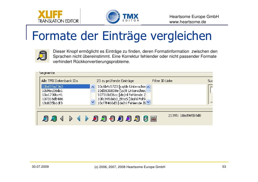 Heartsome Europe GmbH                                                                               www.heartsome.de   For...