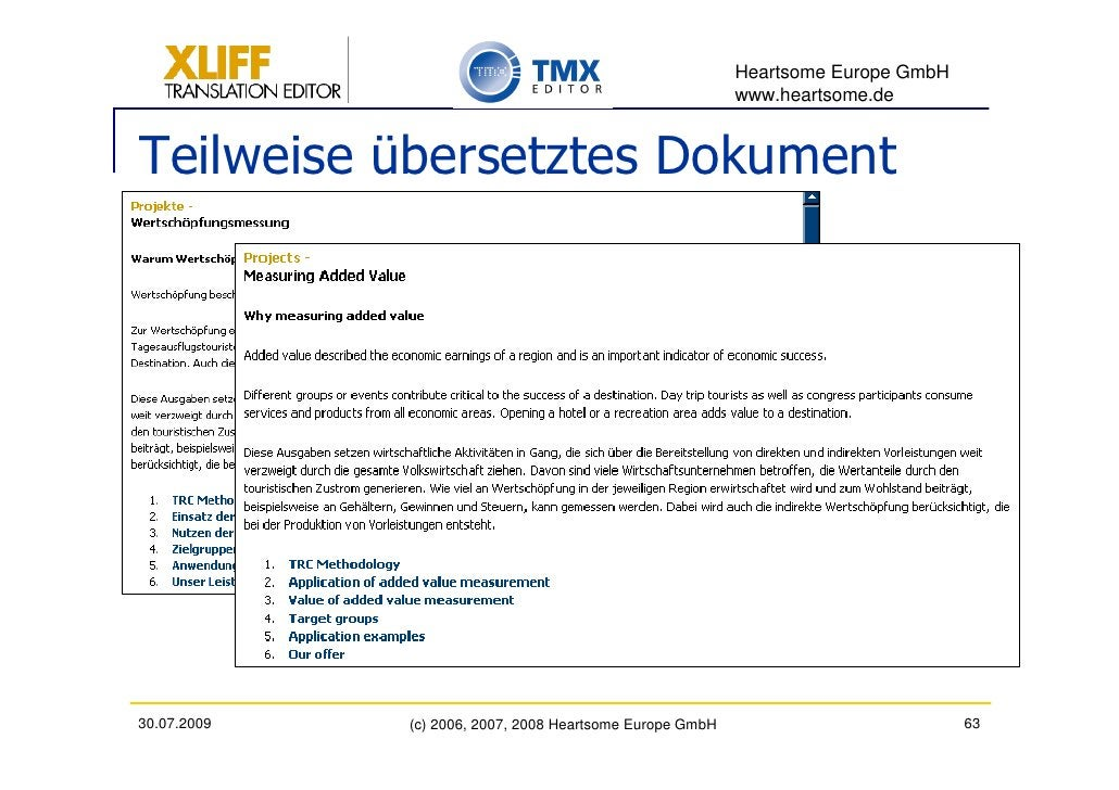 Heartsome Europe GmbH                                                           www.heartsome.de   Teilweise übersetztes D...
