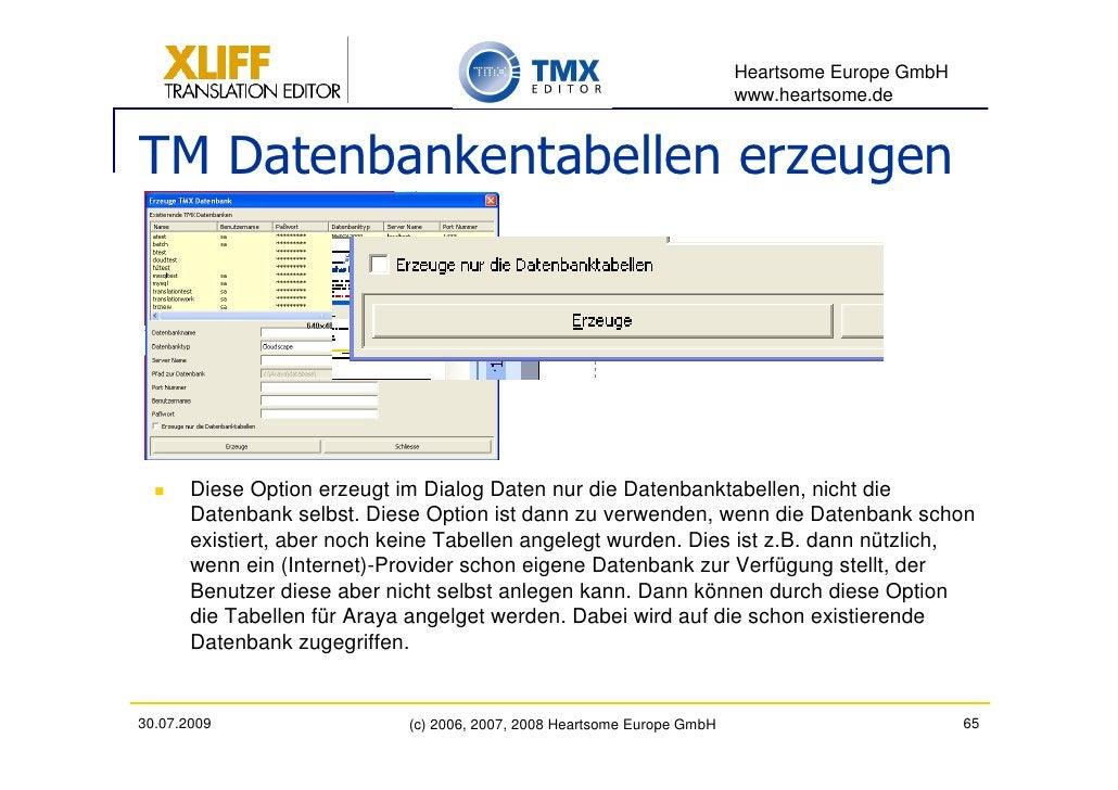 Heartsome Europe GmbH                                                                           www.heartsome.de   TM Date...
