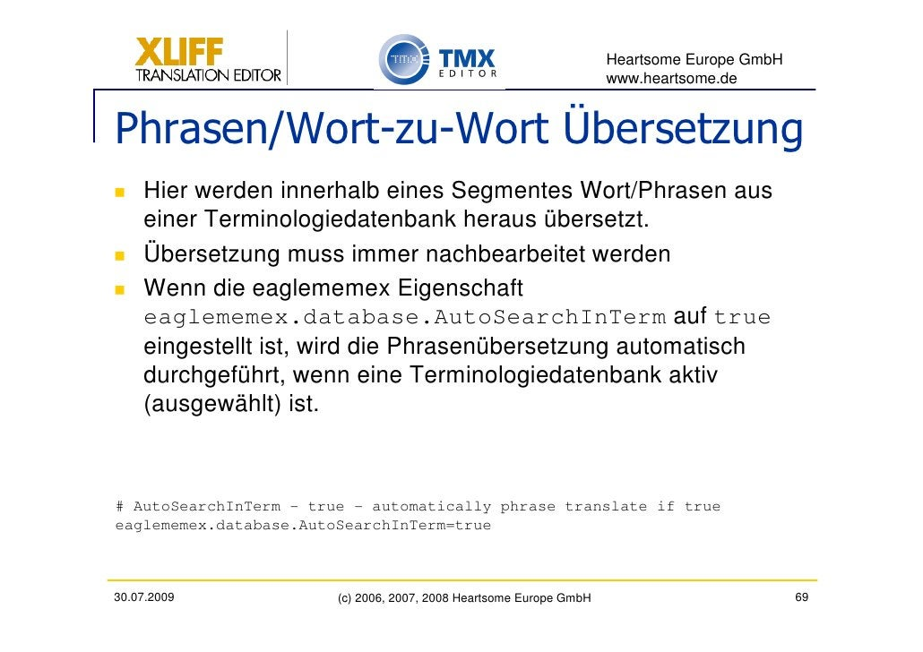 Heartsome Europe GmbH                                                                      www.heartsome.de   Phrasen/Wort...