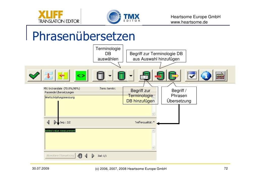 Heartsome Europe GmbH                                                            www.heartsome.de   Phrasenübersetzen     ...