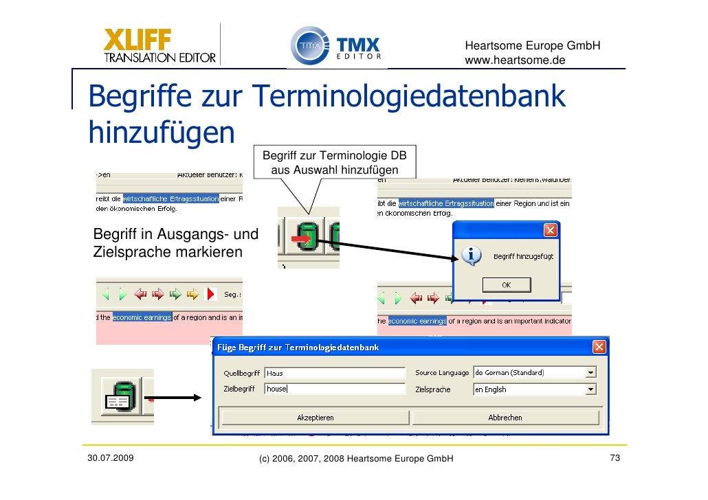 Heartsome Europe GmbH                                                                          www.heartsome.de   Begriffe...