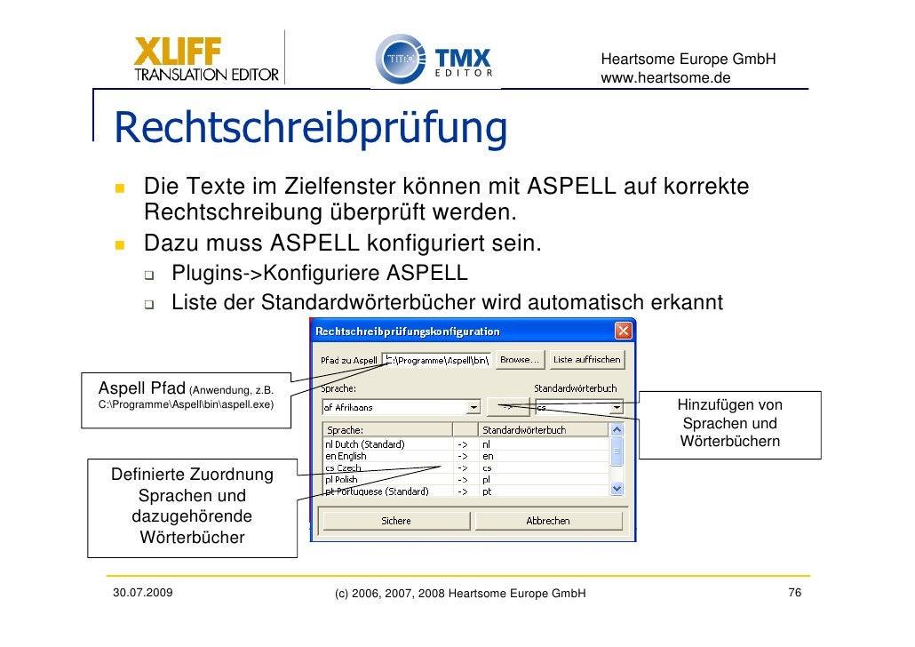 Heartsome Europe GmbH                                                                                    www.heartsome.de ...