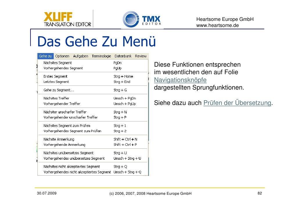 Heartsome Europe GmbH                                                           www.heartsome.de   Das Gehe Zu Menü       ...