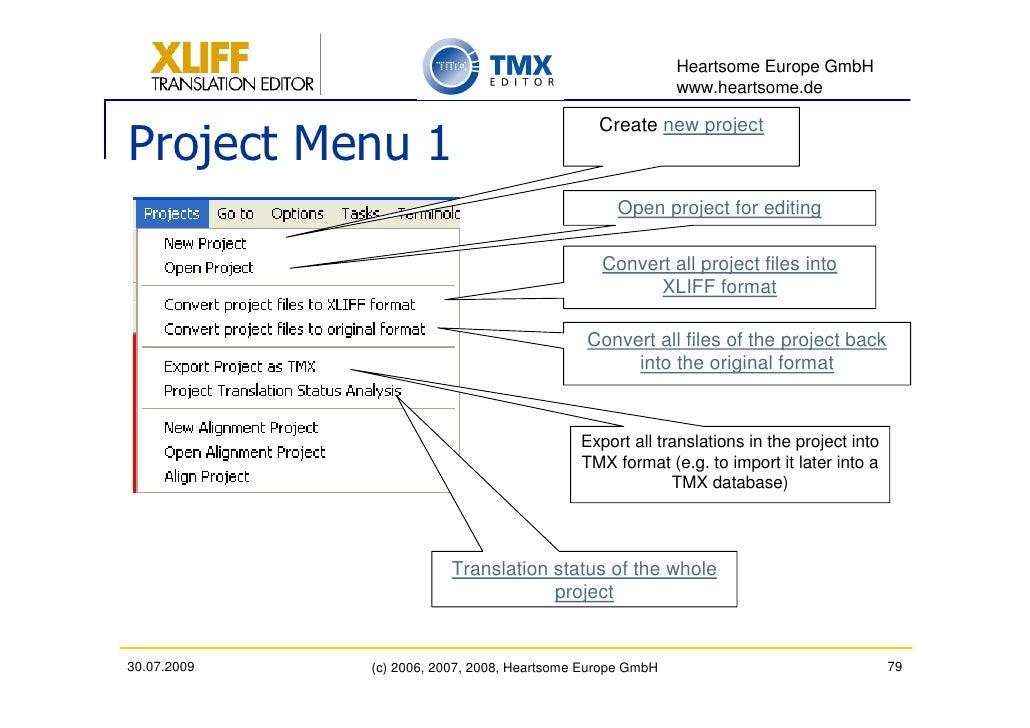 how to create a tmx file