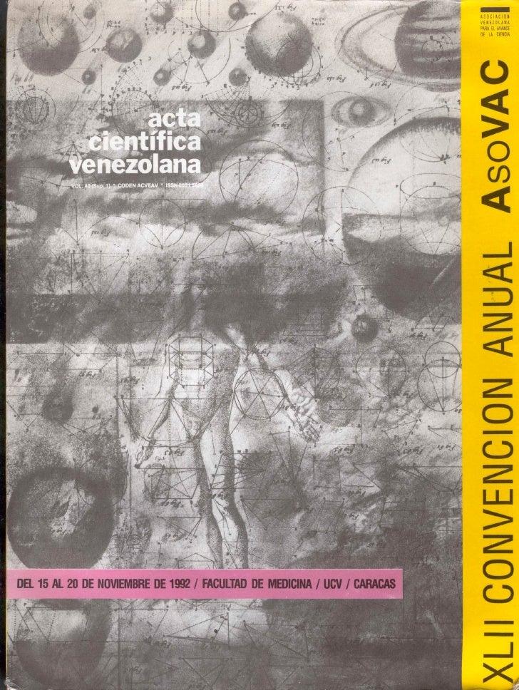 Ciencia Ficción: Arqueología del Futuro posible en XlII Acta Cientifica - AsoVAC