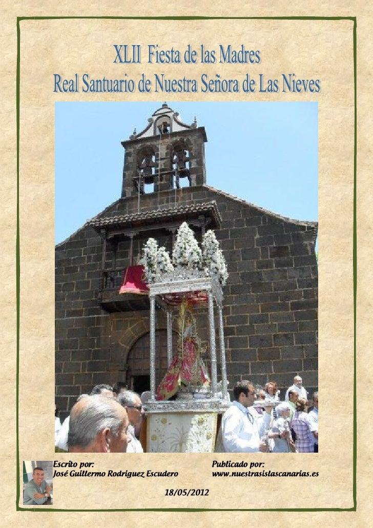 El próximo domingo 27 de mayo de 2012 tendrá lugar el                   emotivo homenaje que se tributa anualmente a la Vi...