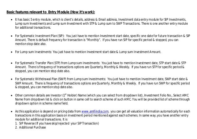 xlmftracker excel based advance mutual fund portfolio tracker