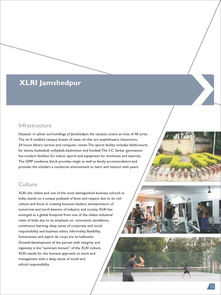 xlri gmp application essays I have got an admission in both xlri (gmp) and aim, manila i have 45 years  work experience in sales and mktg in hotels and 15 year work.