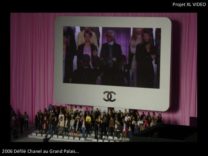 Projet XL VIDEO2006 Défilé Chanel au Grand Palais…