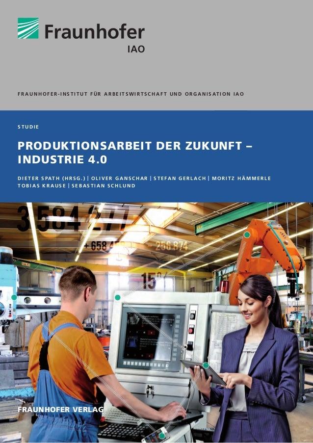 Mindesthöhe von Farbbalken 49,6 mm Balkenhöhe 8 mm s t u d i e Produktionsarbeit der Zukunft – Industrie 4.0 D i e t e r S...