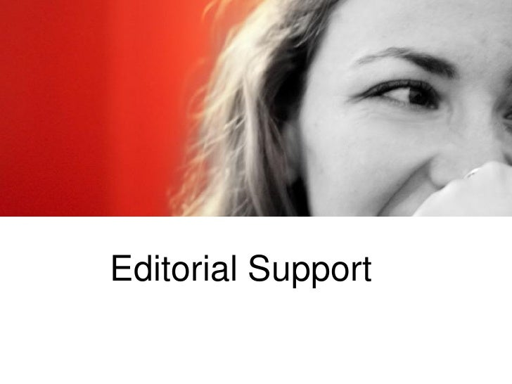 Editorial Support