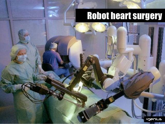 Robot heart surgery