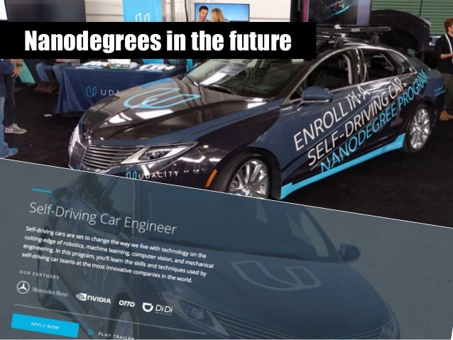 Nanodegrees in the future