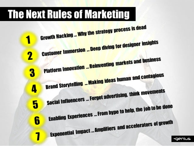 THE 10X RULES EXPONENTIAL WORLD XMARKETING