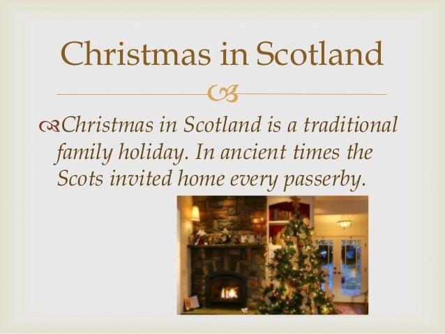 christmas in scotland