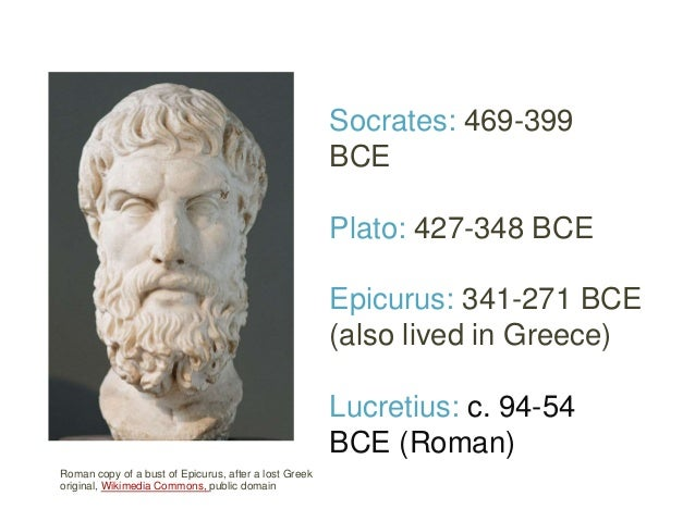 lucretius and plato on the mortality Philosophy's central function involves coming to terms with mortality and yet,   pierre hadot already attribute to socrates, plato, and epicurus as hadot notes.