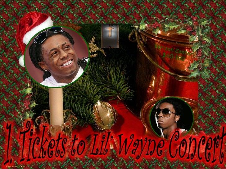 Lina's Christmas List Slide 2