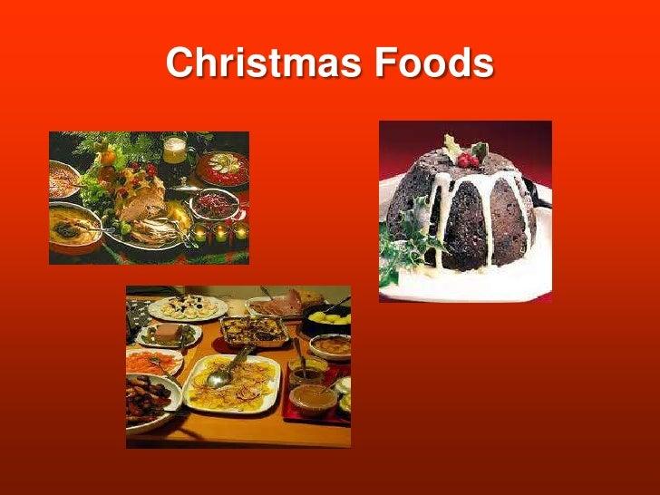Christmas Foods<br />