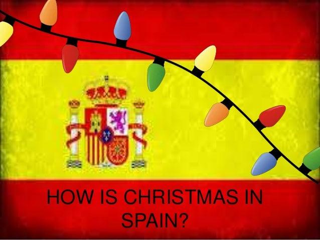 Christmas Spain.Christmas In Spain