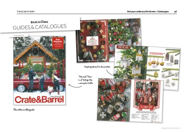Christmas 2013 gift catalogues:  Best in class Slide 3