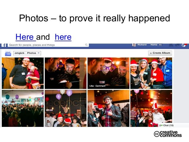 Photos – to prove it really happened Here and here