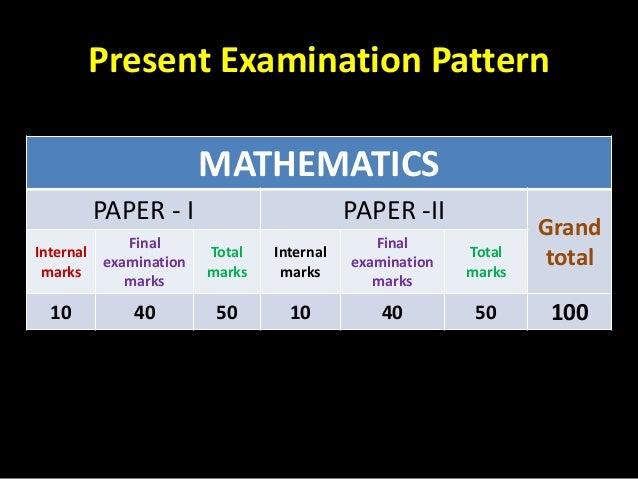 X math new pattern exam in Telangana for 2014- 15 Slide 2