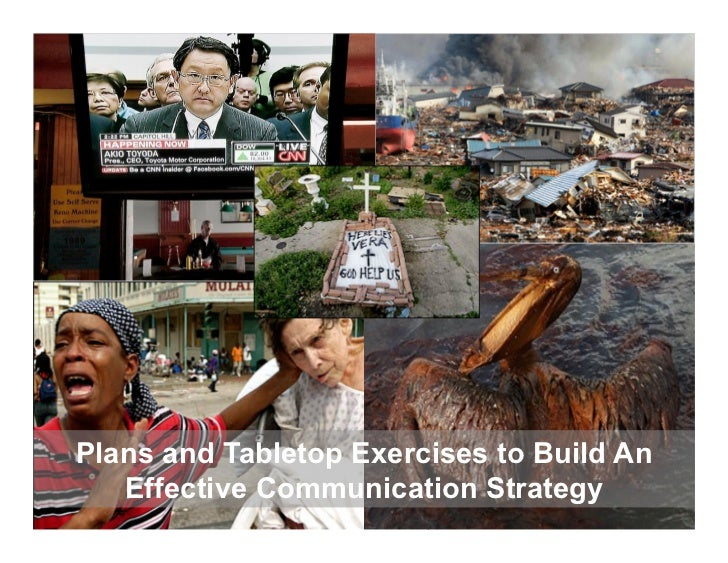 Out ofDangerComes                   Emergency Management & Safety SolutionsOpportunityPlans and Tabletop Exercises to Buil...