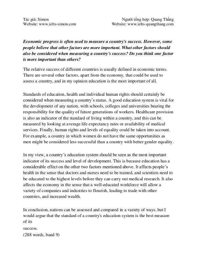 changes in the education system essay