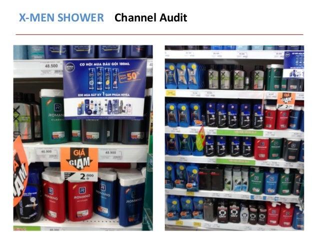 X-‐MEN  SHOWER  Channel  Audit