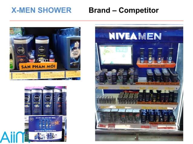 X-MEN SHOWER Brand – Competitor
